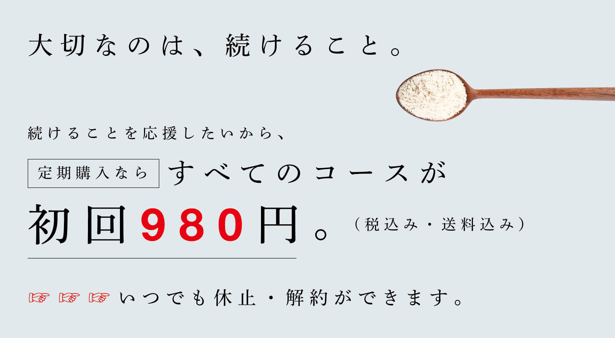 定期,初回980円